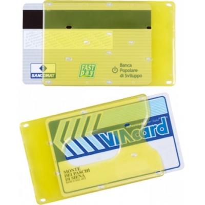 Porta cards in plastica