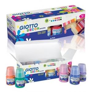 Colori Acrilici Giotto Kit 12 Colori