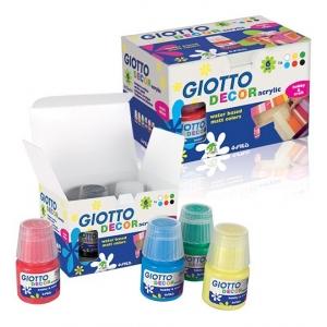 Colori Acrilici Giotto Kit 6 Colori
