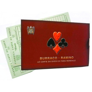 Muoio Carte da Gioco Francesi Duplex Burraco e Ramino bfb630a0daa