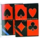 Muoio Carte da Gioco Francesi Triplex Poker Singolo