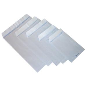 Buste bianche a sacchetto adesive