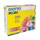 Plastilina Pongo 450 Gr. 12 Panetti Classici Assortiti