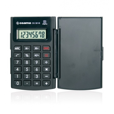 Calcolatrice Osama Big Display OS 381/8