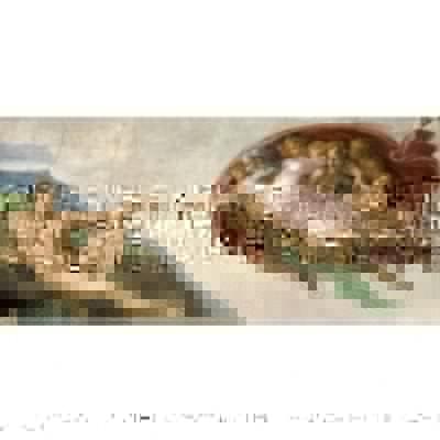 Particolare della Cappella Sistina di Michelangelo Buonarroti