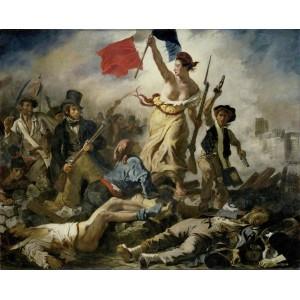 La libertà che guida il popolo di Eugène Delacroix
