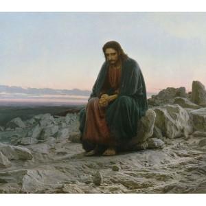 Cristo nel deserto di Ivan Kramskoy