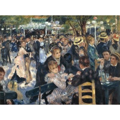 Ballo al Mulino de la Galette di Renoir