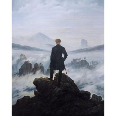 Viandante sul mare di nebbia di Friedrich