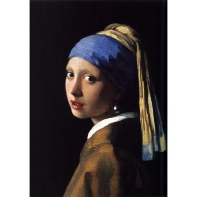 Ragazza col turbante o Ragazza con l'orecchino di perla di Vermeer