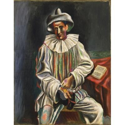 Pierrot di Picasso