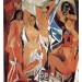 Les Demoiselles d' Avignon di Picasso