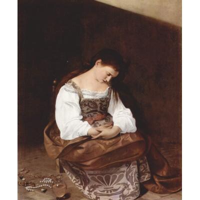 Maddalena penitente di Caravaggio