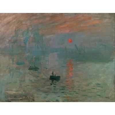 Impressione, Levar del Sole di Monet