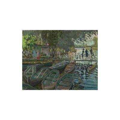 Bagnanti alla Grenouillère di Monet