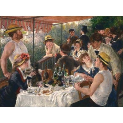 La colazione dei canottieri di Renoir