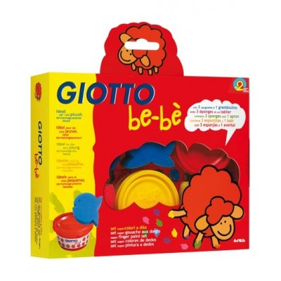Giotto be-bè Set Colori a Dita