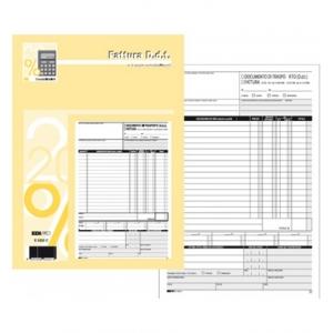 Blocco Fattura DDT A5 33x3 - formato 22 x 14,8