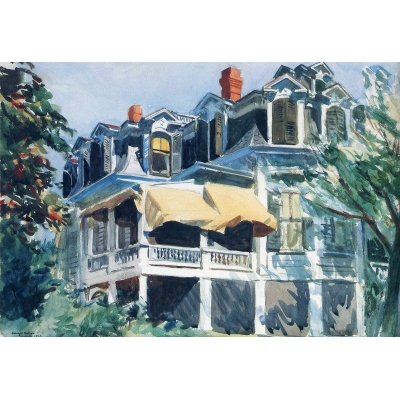 The Mansard Roof DI EDWARD HOPPER