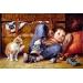 Bambino e Gatto di JIM DALY