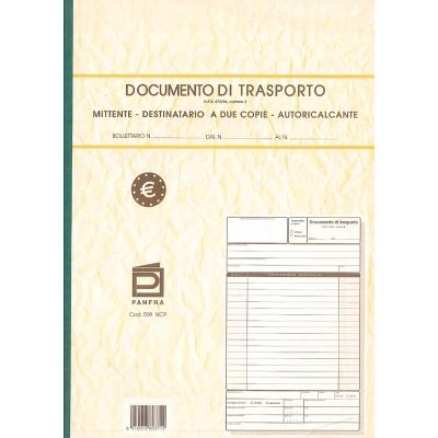 documento di trasporto - formato A/4