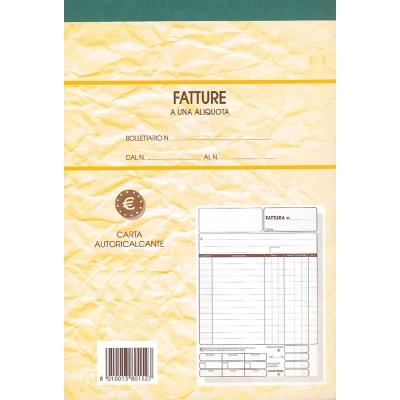 Fatture a una Aliquota - 2 copie