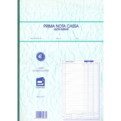Prima Nota Cassa - Uscite Entrate