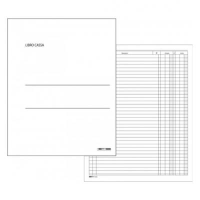 Registro Cassa A4 100 pagine - formato 31 x 24,5