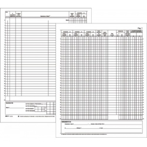 Registro IVA Acquisti 22 Pagine