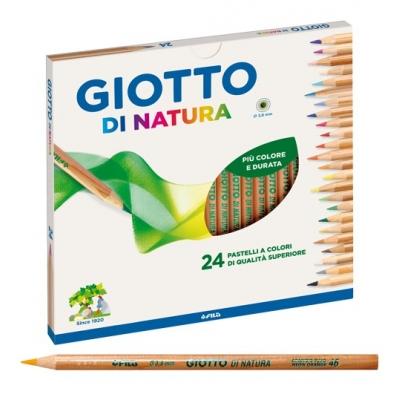 Giotto pastelli natura da 24