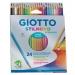Giotto pastelli stilnovo acquerellabili da 24